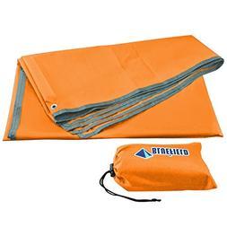 LEAPTECH Waterproof Camping Tarp, Outdoor Picnic Mat, Multi-