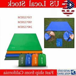 Waterproof Camping Tent Tarp Shelter Hammock Cover Lightweig