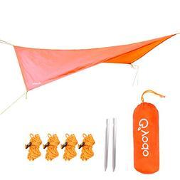 Yodo Waterproof Hammock Rain Fly Camping Tent Tarp Sun Shade