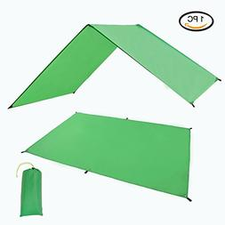 Geertop Waterproof Lightweight Tent Floor Footprint Tarp Rai