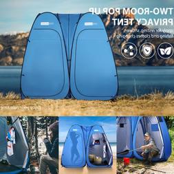 VIVOHOME Waterproof Outdoor Pop-up Double Fishing Tent Pod P
