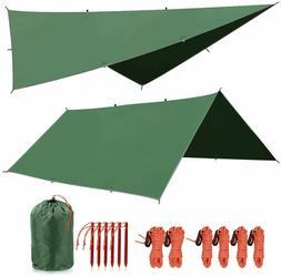 REDCAMP Waterproof Sunshade Tarp Shelter Camping Tent Canopy