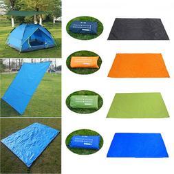 Waterproof Tents Tarp Floor Mat Awning Rain Camping Tent She