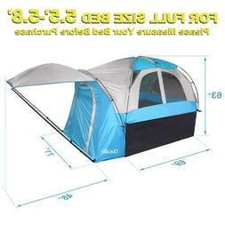 Quictent Waterproof Truck Tent with Awning & Rainfly for F