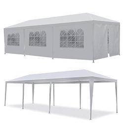 Smartxchoices 10' X 30' White Gazebo Canopy Tent Outdoor Hea