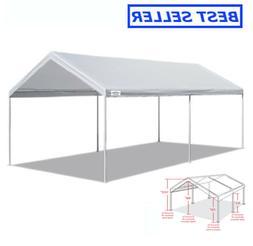10 x 20 FT Carport Heavy Duty Canopy Tent Steel Caravan Car
