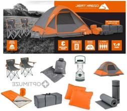 Ozark Trail WMT9752C 22 piece Camping Combo Set - 4 Person T