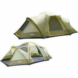 GigaTent Wolf Mountain 18' x10' 3 room 3 doors 5-6 person Do